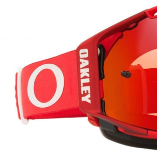 Oakley Airbrake Moto Red Clear Goggles Image 4