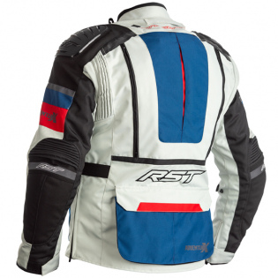 RST Pro Series Adventure - X CE Textile Ice Blue Red Jacket Image 3