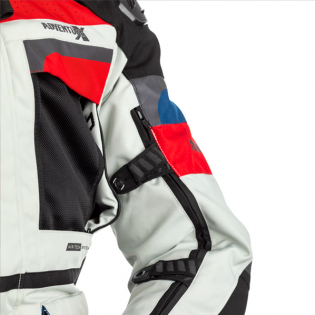 RST Pro Series Adventure - X CE Textile Ice Blue Red Jacket Image 4