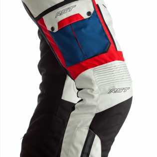 RST Pro Series Adventure - X CE Textile Ice Blue Red Jean Image 2