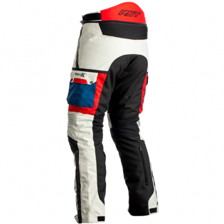 RST Pro Series Adventure - X CE Textile Ice Blue Red Jean Image 3