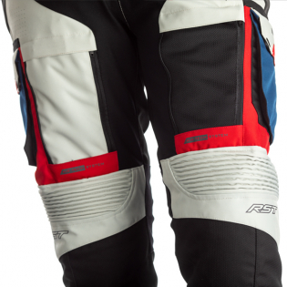 RST Pro Series Adventure - X CE Textile Ice Blue Red Jean Image 4
