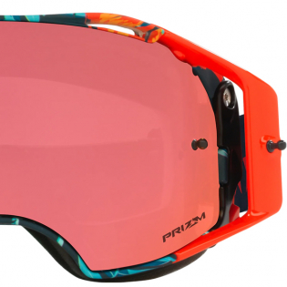 Oakley Airbrake Troy Lee Cosmic Jungle Blue Prizm Trail Torch MTB Goggles Image 2