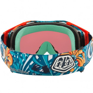 Oakley Airbrake Troy Lee Cosmic Jungle Blue Prizm Trail Torch MTB Goggles Image 3