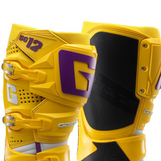 Gaerne SG12 LE White Gold Purple Motocross Boots Image 2