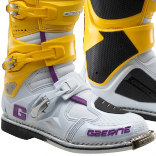 Gaerne SG12 LE White Gold Purple Motocross Boots Image 3