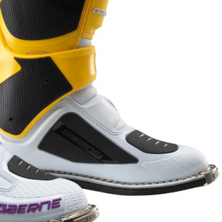 Gaerne SG12 LE White Gold Purple Motocross Boots Image 4