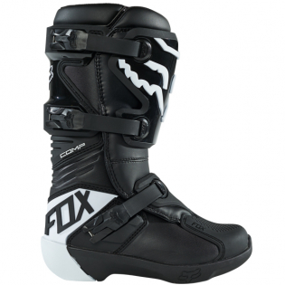 Fox Racing Youth Black Comp Motocross Boots Image 2