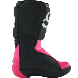 Fox Racing Youth Black Pink Comp Motocross Boots Image 3