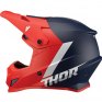 Thor Sector Chev Red Navy Helmet