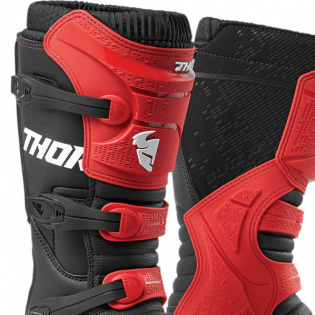 Thor Blitz XP Red Black Boots Image 2