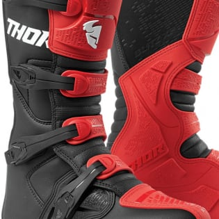 Thor Blitz XP Red Black Boots Image 3