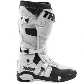 Thor Radial White Boots Image 2