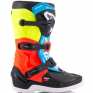 Alpinestars Youth Boots Tech 3S - Black Yellow Fluo Red Fluo