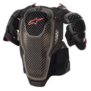 Alpinestars A6 Black Anthracite Red Chest Protector Image 3