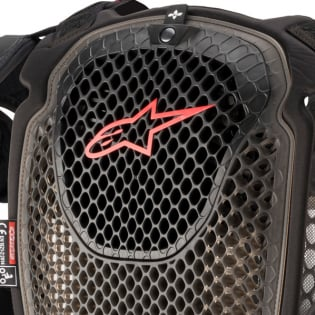 Alpinestars A6 Black Anthracite Red Chest Protector Image 4