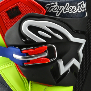 Alpinestars Tech 7 Troy Lee Designs Yellow Red Boots Image 2