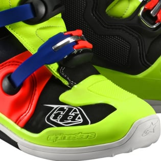 Alpinestars Tech 7 Troy Lee Designs Yellow Red Boots Image 3