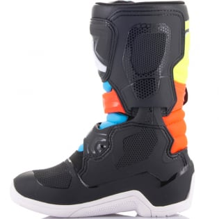 Alpinestars Kids Boots Tech 3S - Black Yellow Fluo Red Fluo Image 3