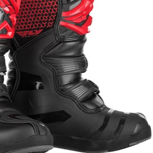 Fly Racing Maverik Youth Kids Red Black Boots Image 3