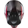 Fly Racing Formula Carbon Prime Red White Red Carbon Helmet