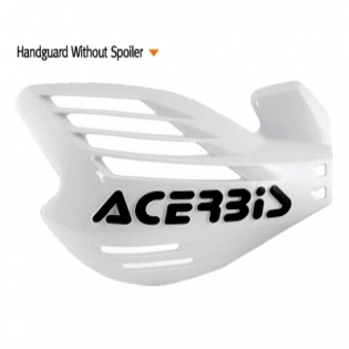 Acerbis X Force Handguards - White Image 2