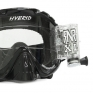 Rip n Roll Hybrid XL Roll Off Goggles - Black