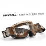 Rip n Roll Hybrid XL Roll Off Goggles - Brilliant Red