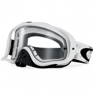 Oakley Crowbar Goggles - Matte White Speed