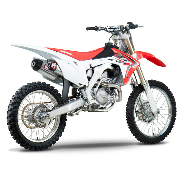 yoshimura rs9 stainless system honda crf 450 2013 2014 dirtbikexpress. Black Bedroom Furniture Sets. Home Design Ideas