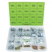 Bolt Hardware Nuts, Washers, Screws & Cotter Pins Assortment
