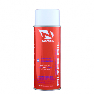 No Toil Air Filter Oil Aerosol