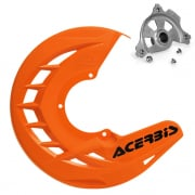 Acerbis X-Brake Front Disc Protector Orange