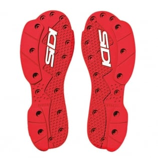 Sidi SMS Replacement Supermoto Soles - Red