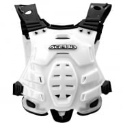 Acerbis Profile Chest Protector - White