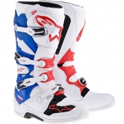 Alpinestars Tech 7 Boots - White Red Blue