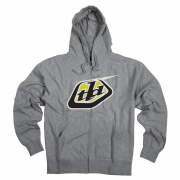 Troy Lee Designs Hoodie Classic Logo Charcoal