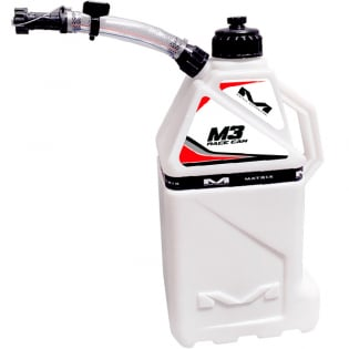 Matrix M3 Fuel Can - White