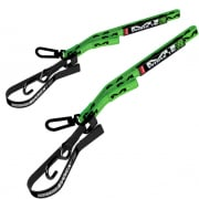 Matrix M1 Worx Tie Down Straps - Green (Pair)