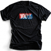 100% Old School T Shirt - Black