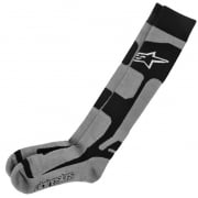 Alpinestars Tech Coolmax Socks - Grey Black White