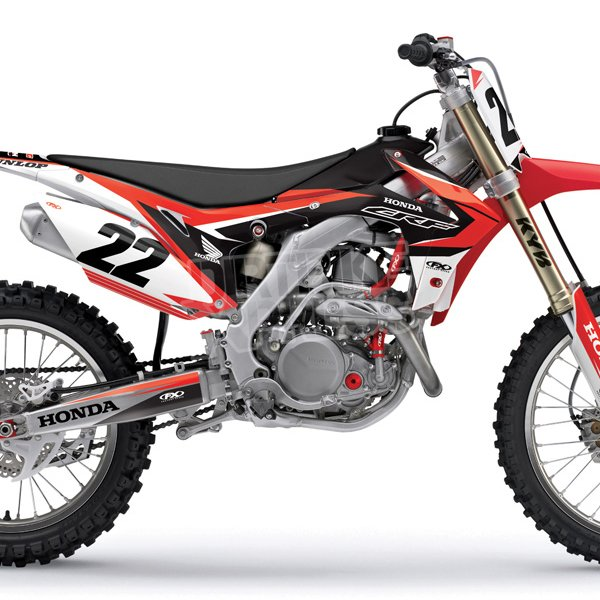 factory effex honda graphics kit evo 11 dirtbikexpress. Black Bedroom Furniture Sets. Home Design Ideas