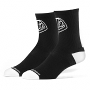Troy Lee Designs Performance Crew Socks 2 Pack - Black Logo