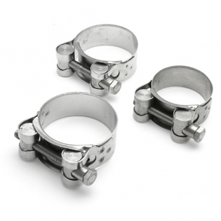 DRC Stainless Exhaust Pipe Clamp