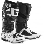 Gaerne SG12 Motocross Boots - Limited Edition White Black