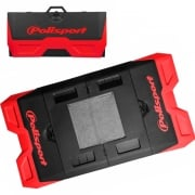 Polisport Motopad Workshop Bike Mat - Red Black