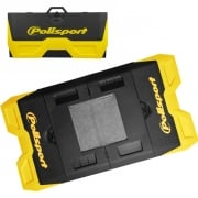 Polisport Motopad Workshop Bike Mat - Yellow Black