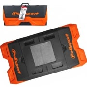 Polisport Motopad Workshop Bike Mat - Orange Black