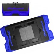 Polisport Motopad Workshop Bike Mat - Blue Black