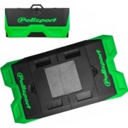 Polisport Motopad Workshop Bike Mat - Green Black